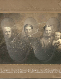 Four Generations of Richards, Skinner, and Wycoff