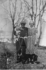 Andrew and Cora Peters with granddaughter Corrine ABT 1939