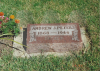 Andrew Peters headstone