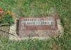 Andrew Peters headstone