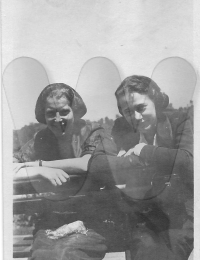 Alice Peters and Lillian Sauntry ABT 1925