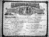 Andrew and Cora Peters Marriage Certificate 1910